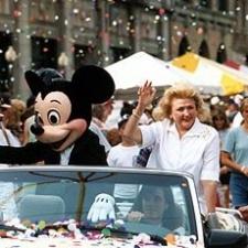 Barbara honoured at Walt Disney World