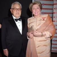 Barbara and Dr Henry Kissinger