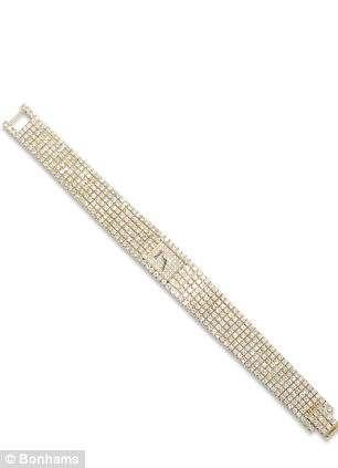 Piaget lady's diamond wristwatch. Estimated worth: £3,500 – £4,500