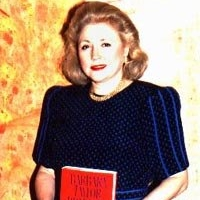 Barbara Taylor Bradford promoting her novel, The Women In His Life (1990)