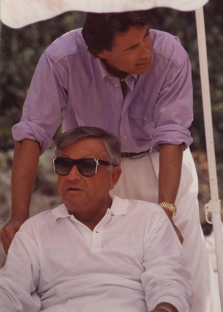 Bob Bradford and Leigh Lawson 1990