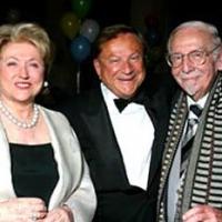 Barbara Taylor Bradford and Robert Bradford with legendary bandleader, Skitch Henderson