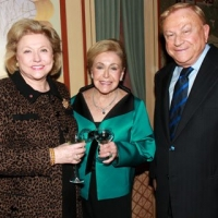 Barbara Taylor Bradford and Bob Bradford with bestselling novelist Mary Higgins Clark
