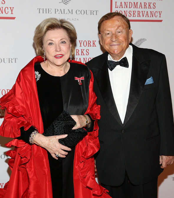 Barbara Taylor Bradford, OBE and Robert Bradford attend 2016 Living Landmarks Celebration in NY (Image: Robin Marchant/Getty Images)