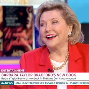 Barbara interviewed about In the Lion's Den on ITV's Good Morning Britain