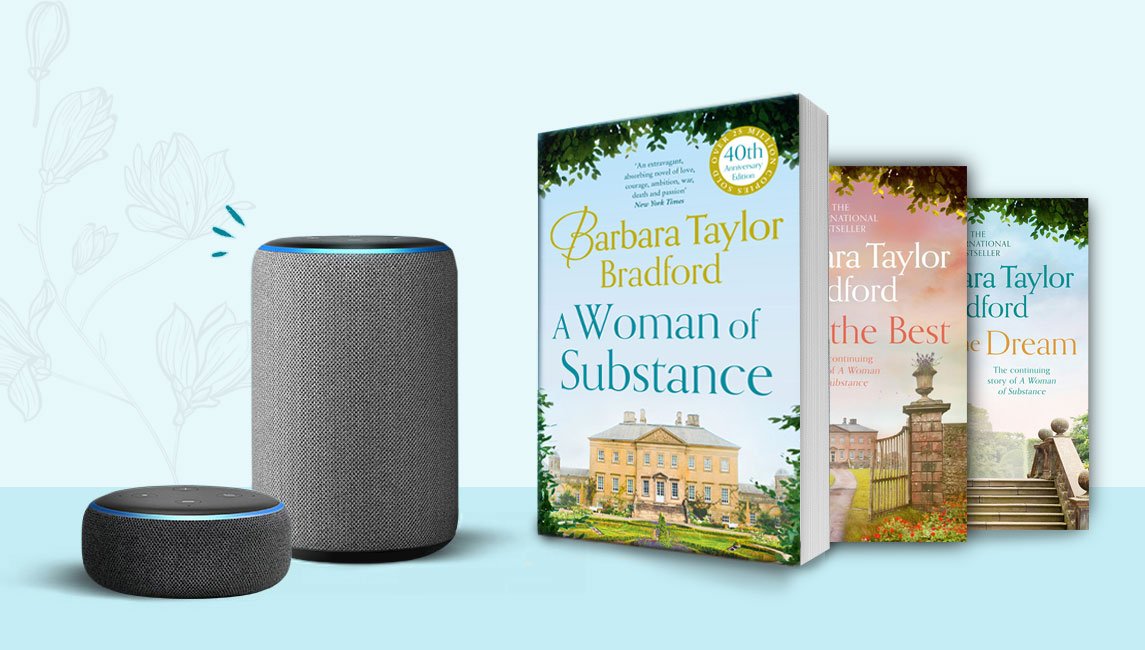Barbara Taylor Bradford A Woman of Substance Audio