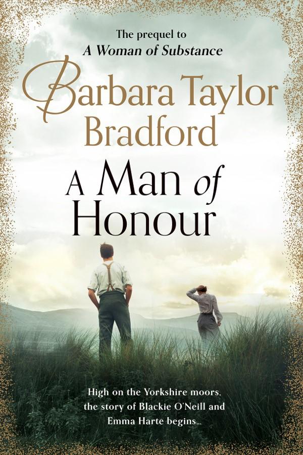 A Man of Honour - Book Cover - Barbara Taylor Bradford